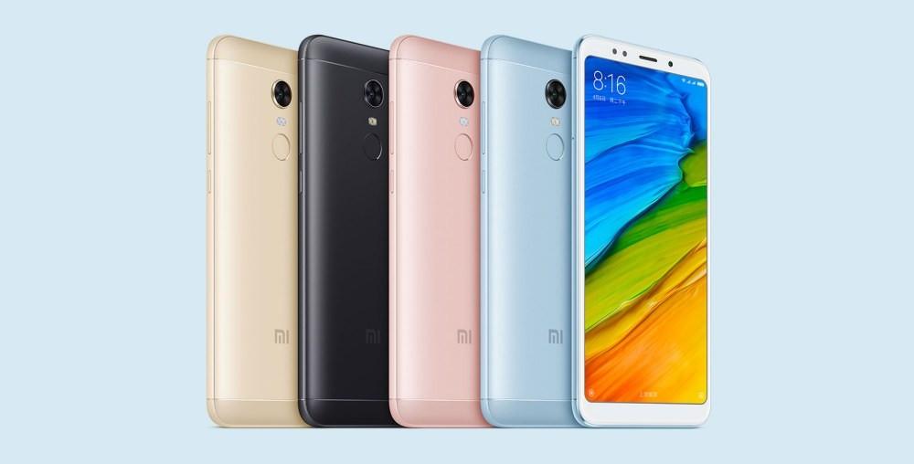 是藉由人工智慧實現「隆鼻」等美顏自拍的紅米Note 5揭曉 台灣將以特規版本上市的第0張圖