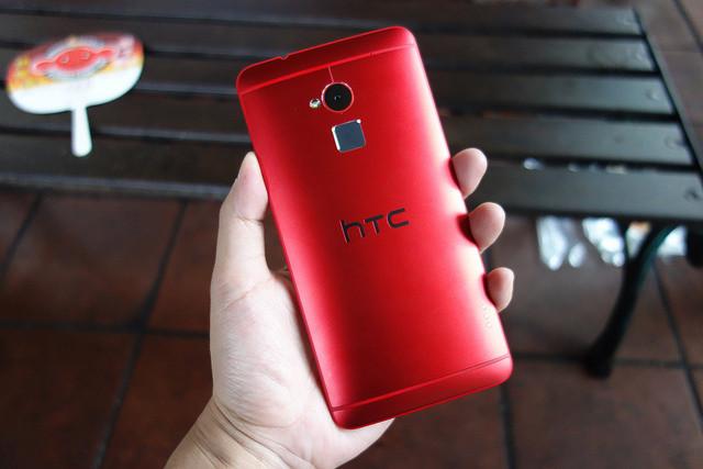 是大膽的美麗HTC One max更全面的魅麗紅這篇文章的首圖