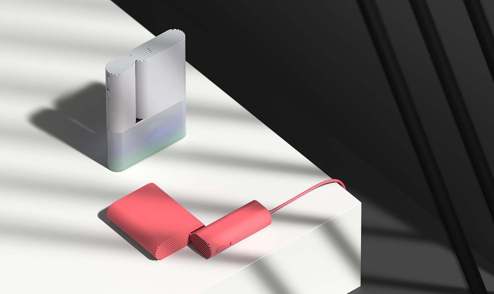 可以收得整整齊齊的概念吹風機 - 癮科技