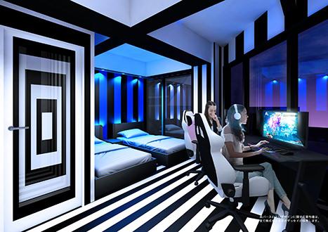 網咖究極進化,電子競技專用酒店明年大阪開幕