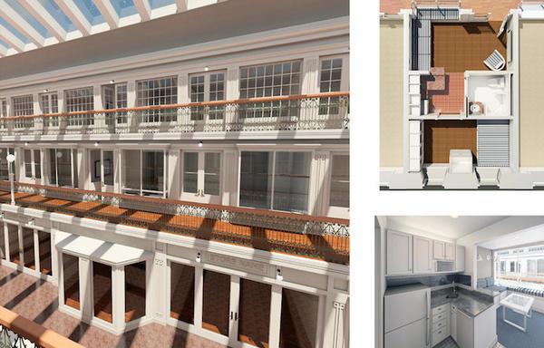 已經188年的商場改建的集合式住宅 - 癮科技