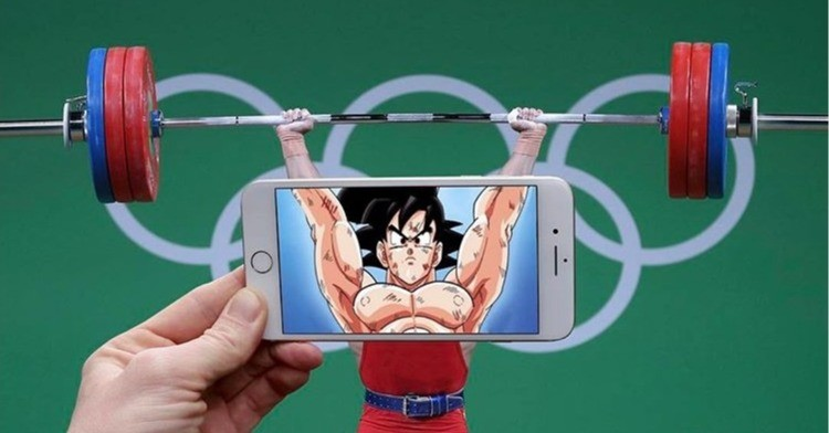CAT S61, , , Pocket Notebook the Spirit Bomb, Photographer, Photography, 癮科技, HTC, Selfie, Industry, pocket notebook the spirit bomb, weightlifter, weightlifting, arm, muscle, chest, human leg, physical fitness