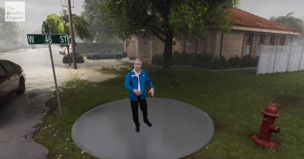 Hurricane Florence, Hurricane Florence, Storm surge, Tropical cyclone, , , News, Wind, The Weather Channel, Storm, Hurricane Florence, water, trampolining equipment and supplies, trampoline, fun, recreation, sports equipment, plant, tree, grass, leisure