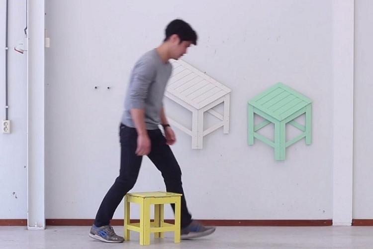 是折疊椅不稀奇,3D→2D椅還兼具裝飾功能才鏘這篇文章的首圖