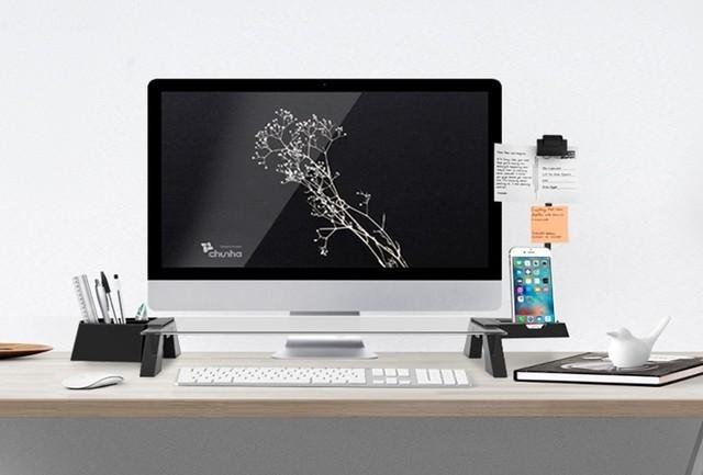 是強悍的螢幕收納架打造出電腦文書作業城堡這篇文章的首圖