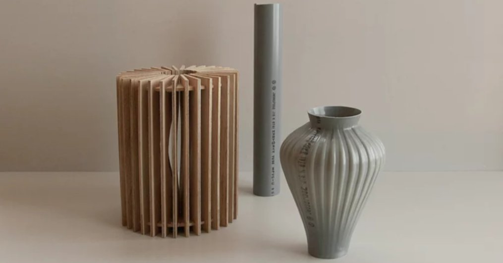 Ceramic, Pipe, Vase, Manufacturing, Material, Plastic pipework, Cylinder, Plastic, Design, Project, Portfolio, product design, vase, artifact, ceramic, cylinder, table