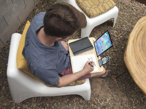 是極富理念的平板、手機托架,開創一個固定空間能夠讓你記事或是做想要做的事這篇文章的首圖