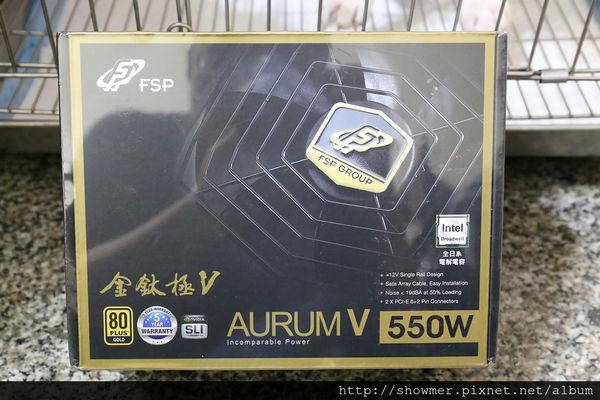 是超平價 80+ 金牌 FSP 全漢 金鈦極 V 550W 快速開箱這篇文章的首圖
