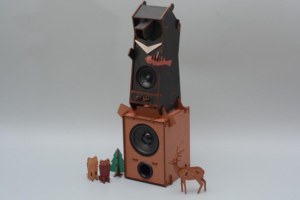 是[壞朋友動受玩] 動手做音響!Stereo Puzzle立體拼圖音響 台灣黑熊版開箱評測這篇文章的首圖
