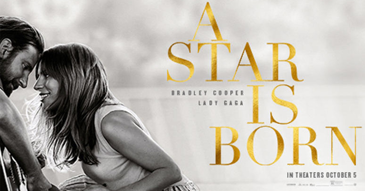 A Star Is Born, Soundtrack, Film, A Star Is Born, Album, United States of America, Shallow, , 2018, Music, star is born soundtrack cover, Text, Font, Album cover, Book cover, Happy, Smile