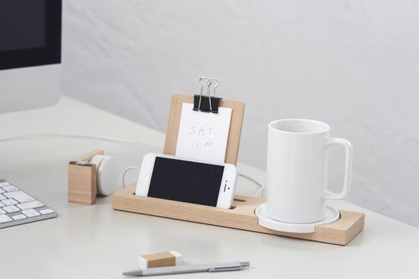 是迷人的精準度 辦公桌收納木托盤 mug tray這篇文章的首圖
