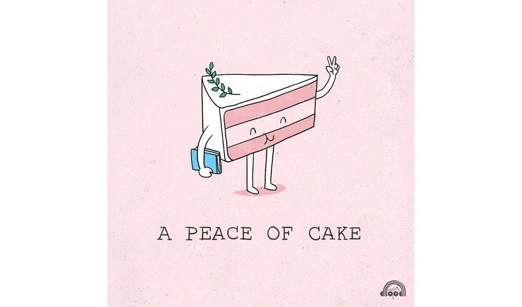 是忍不住地微笑!超可愛雙關語插畫,讓你一整天都好心情!這篇文章的首圖