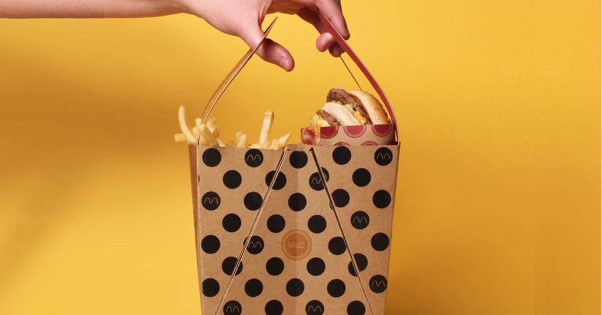 是大麥克新包裝,真正方便你快速食用的「速食」!這篇文章的首圖