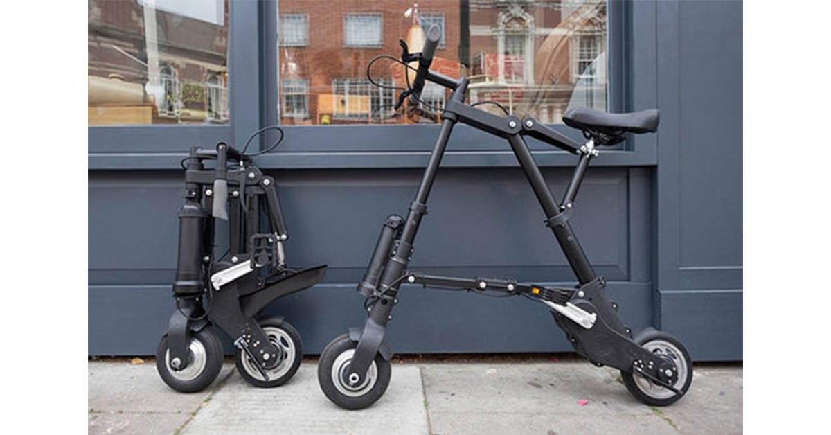 是即將問世,全世界最輕巧的電動腳踏車:A-Bike Electric這篇文章的首圖