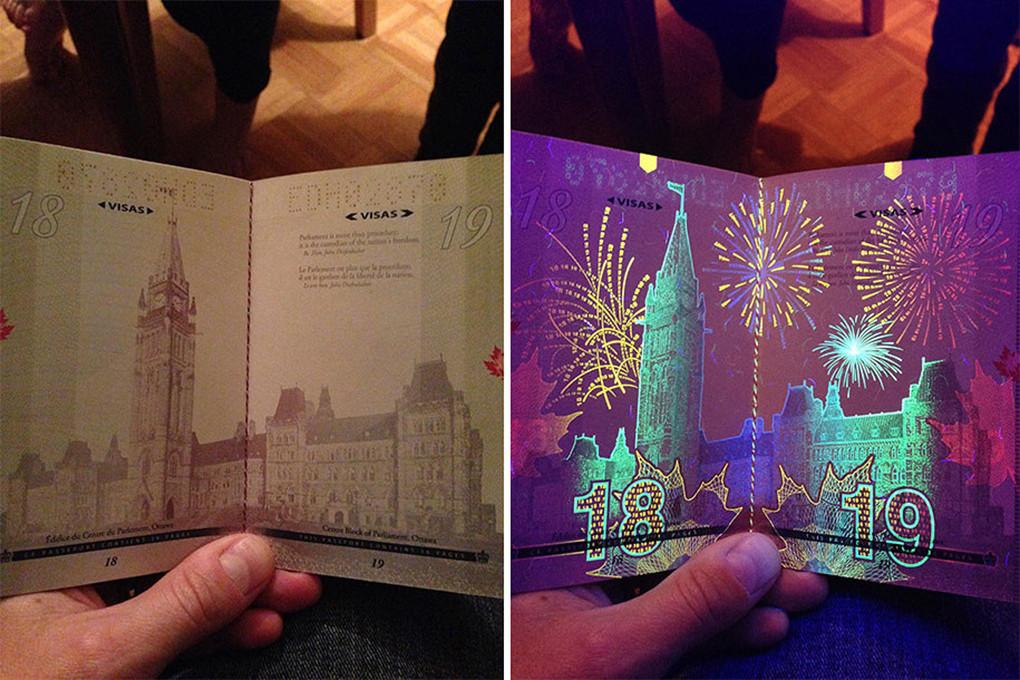 是隱藏在加拿大護照裡的秘密!原來護照這麼悶騷!這篇文章的首圖