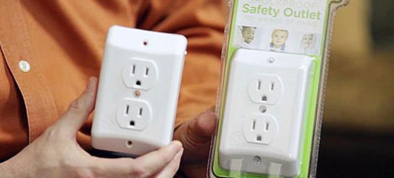 是新型插蘇設計,保護兒童避免觸電!這篇文章的首圖