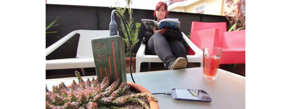 是可為手機平板充電,智利研發植物發電裝置 E-Kaia這篇文章的首圖