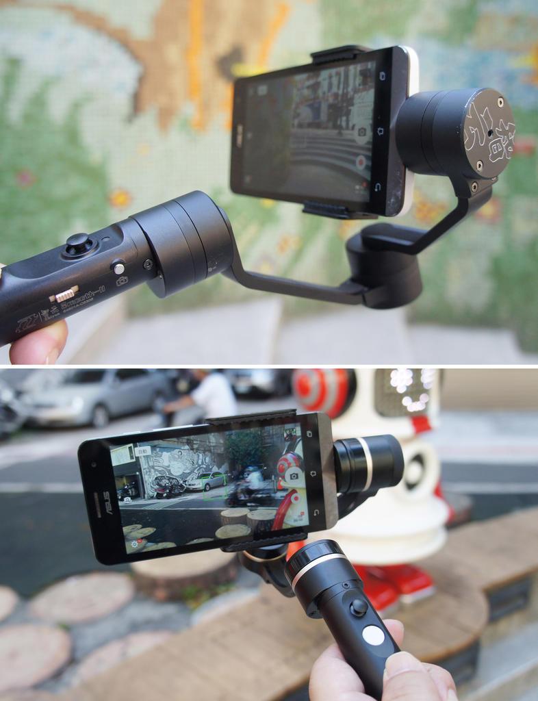 手機也能拍出好影片!智雲Z1 SMOOTH 2、飛宇G4 pro三軸穩定器簡單把玩!