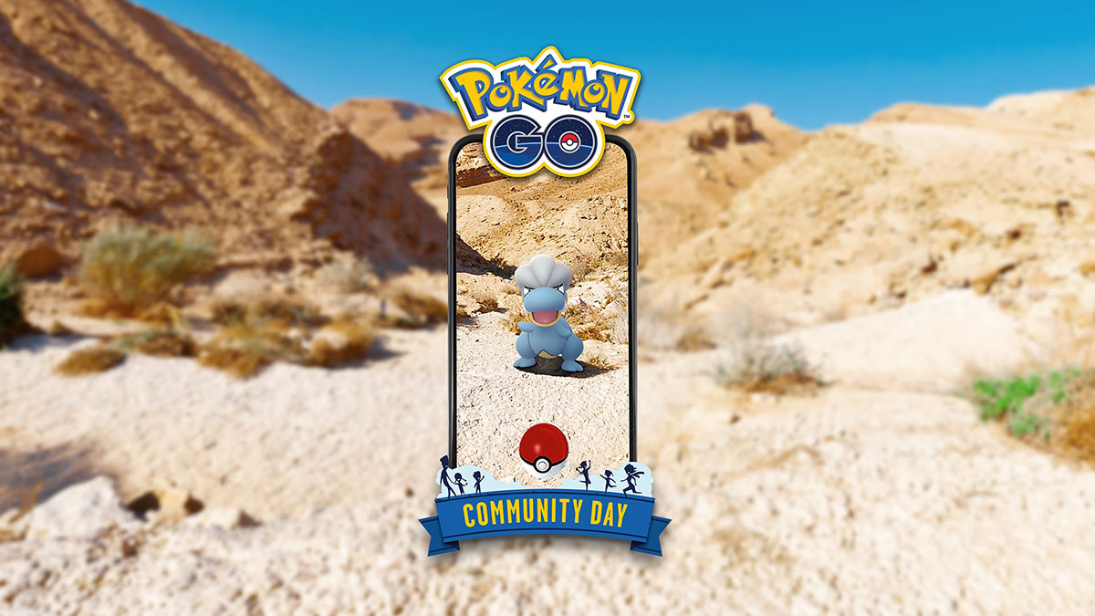 Pokémon GO, Pokémon: Let's Go, Pikachu! and Let's Go, Eevee!, Pokemon Go Community Day, Video Games, Niantic, Pokémon, Game, , The Pokémon Company, , pokemon, Sand, Logo, Landscape, Geology, Vacation, Rock, Fictional character, Graphics