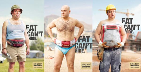 是減肥趁現在!肥胖無法遮掩系列廣告這篇文章的首圖