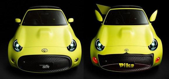 是開著皮卡丘去收服全世界的寶貝吧!Toyota 推出 S-FR 超像皮卡丘!這篇文章的首圖