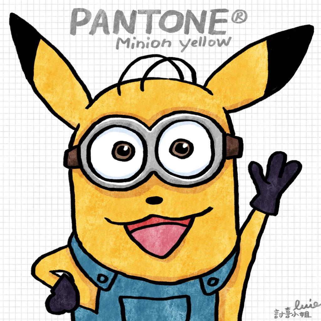 """是今日新聞淺談:Pantone 官方宣布小小兵色票 """"Minion Yellow""""這篇文章的首圖"""