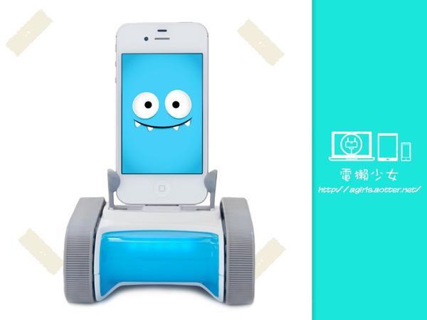 是[玩具] ROMO 讓智慧手機對你笑一個這篇文章的首圖