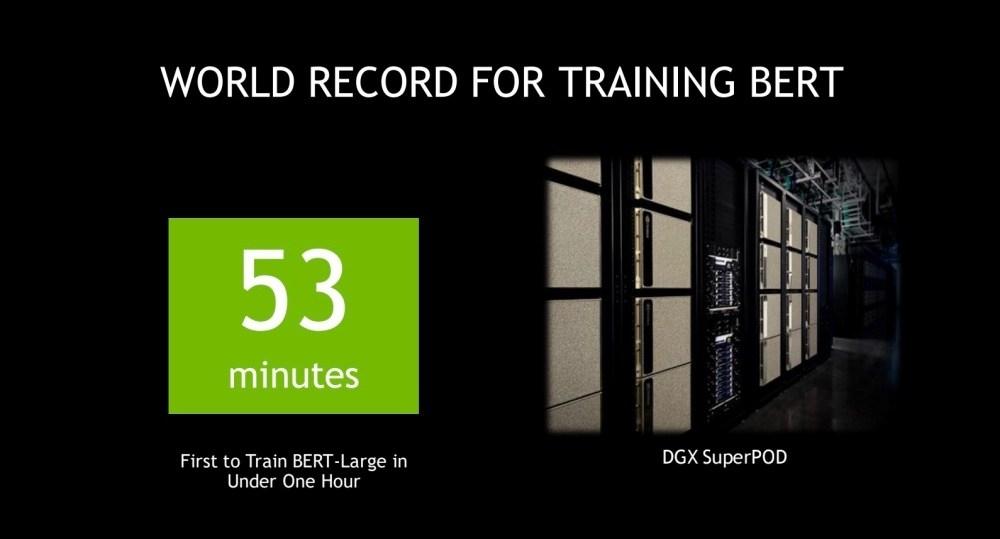 NVIDIA超級電腦打破Google記錄 53分鐘完成訓練可自然對話的人工智慧語言模型