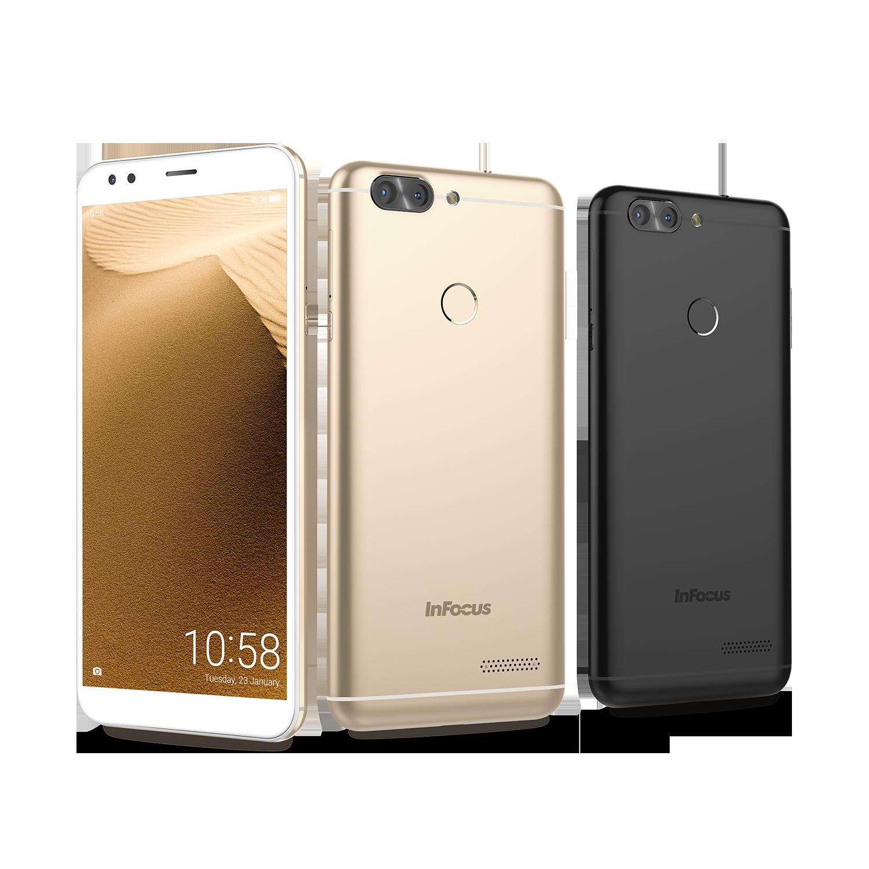 InFocus 首款 18:9 全螢幕手機 M7s 主打雙相機、大電池且不到五千台幣