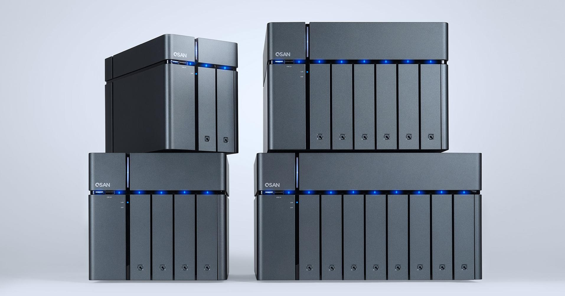 QSAN榮獲2019年iF設計獎,XCubeNAS免工具磁碟安裝、配備額外的SSD插槽自動分層