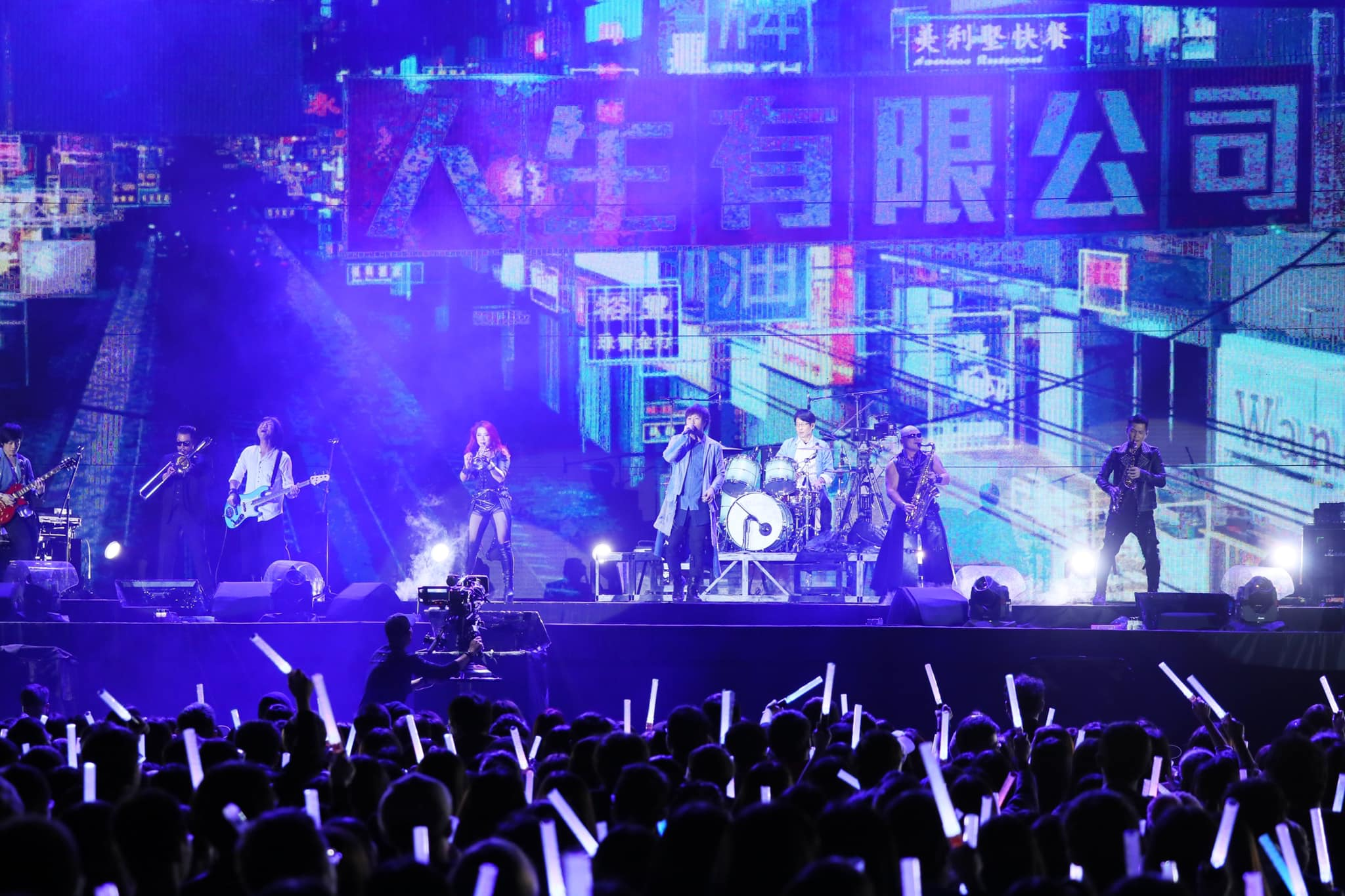 Life Tour, Rock concert, Mayday, Music, , Guitarist, , Concert, B'in Music Co. Ltd, Musician, Life Tour, concert, stage, rock concert, entertainment, crowd, performance, guitarist, auditorium, audience, event
