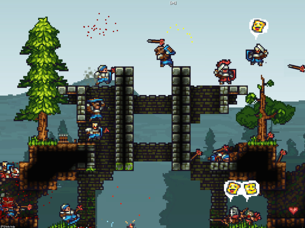 King Arthur's Gold, Video Games, Multiplayer video game, , Game, Steam, Action game, Terraria, Indie game, Transhuman Design, king arthur's gold, Action-adventure game, Pc game, Biome, Tree, Video game software, Games, Screenshot