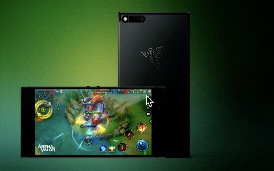 Nextbit Robin, Razer Phone, Smartphone, Gamer, , Razer Inc., Android, Computer, , Company, personajes arena of valor, gadget, green, technology, electronic device, mobile phone, portable communications device, smartphone, communication device, display device, electronics