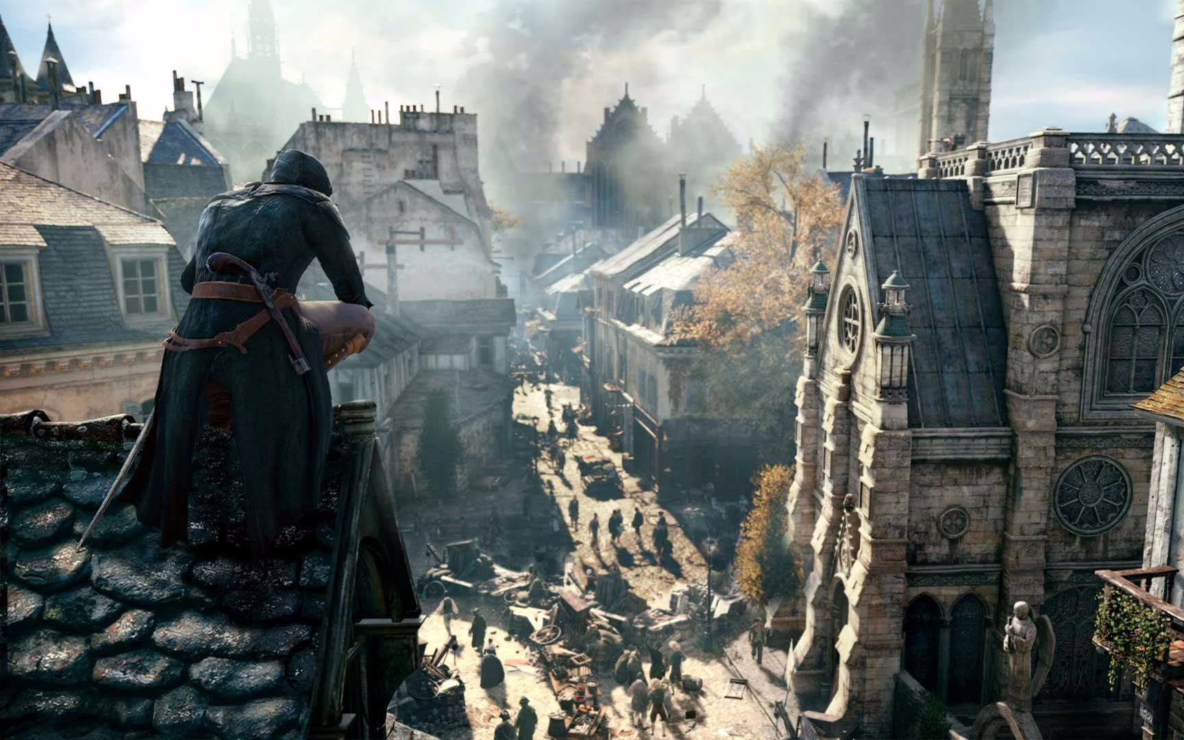 Assassin's Creed Unity, Assassin's Creed Odyssey, Paris, Assassin's Creed IV: Black Flag, Video Games, Assassin's Creed, , Ubisoft, Arno Dorian, Gamescom, assassin's creed unity paris, Action-adventure game, Pc game, Strategy video game, Games, Cg artwork, World, Illustration, Screenshot, Digital compositing, Adventure game