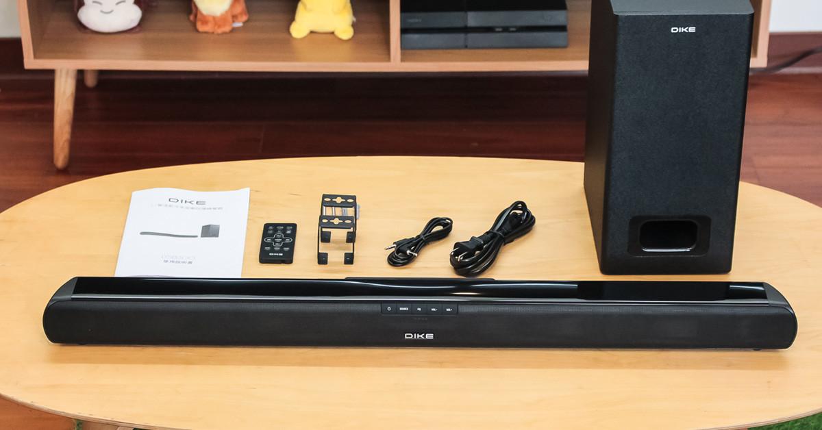 開箱評測:撼動聽覺感受的 DIKE DSB300 聲霸系統
