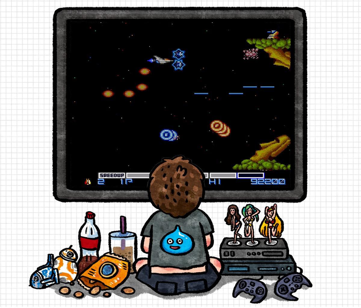 是[巷口遊戲攤]宇宙巡航艦:上上下下左右左右BA這篇文章的首圖