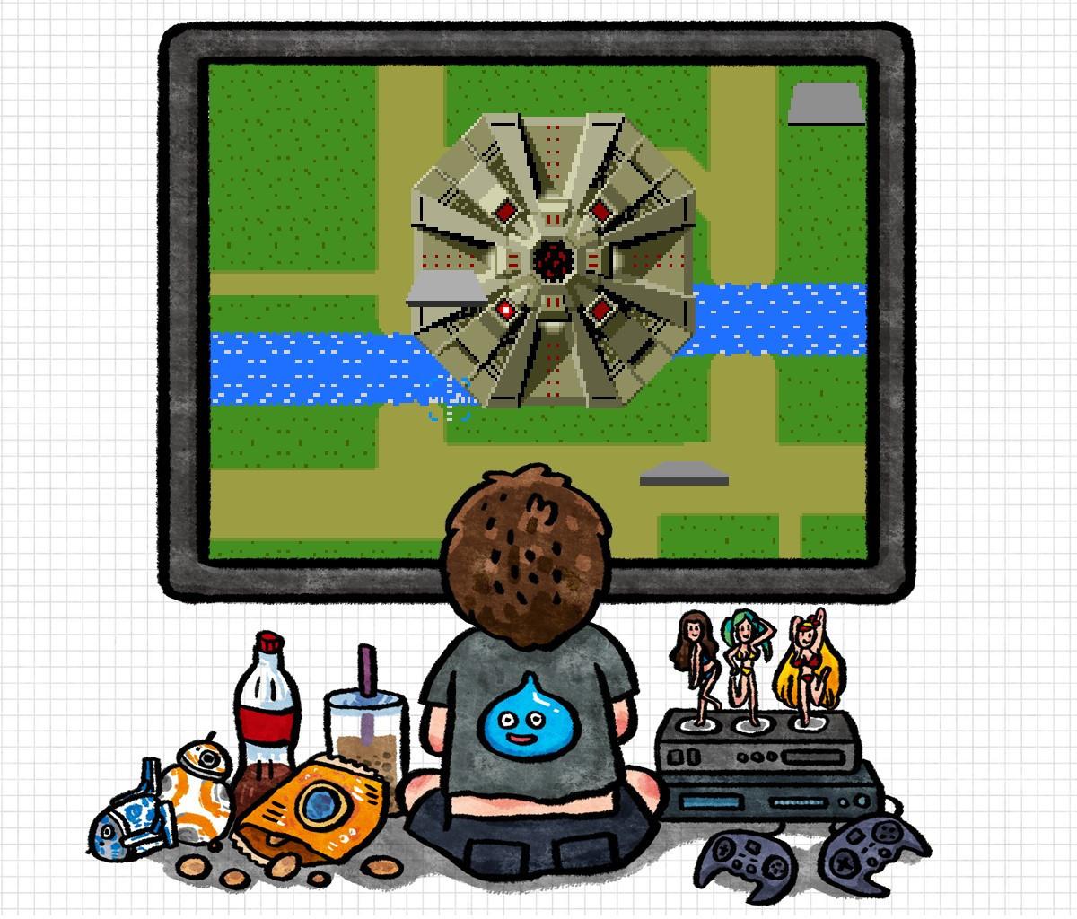 是[巷口遊戲攤] 鐵板陣:縱向捲軸射擊遊戲的拓荒者這篇文章的首圖