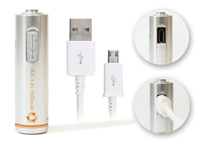 是覺得3號、4號電池充電很麻煩嗎?如果能用MicroUSB的話也許就更方便了這篇文章的首圖