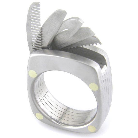 是多種機能結合在一起的戒子:Titanium Utility Ring這篇文章的首圖