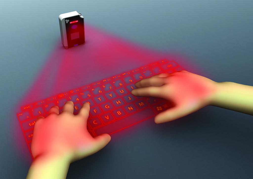 是【科技宅物圖解偵蒐】一圖鍵解雷射投影虛擬鍵盤工作原理這篇文章的首圖