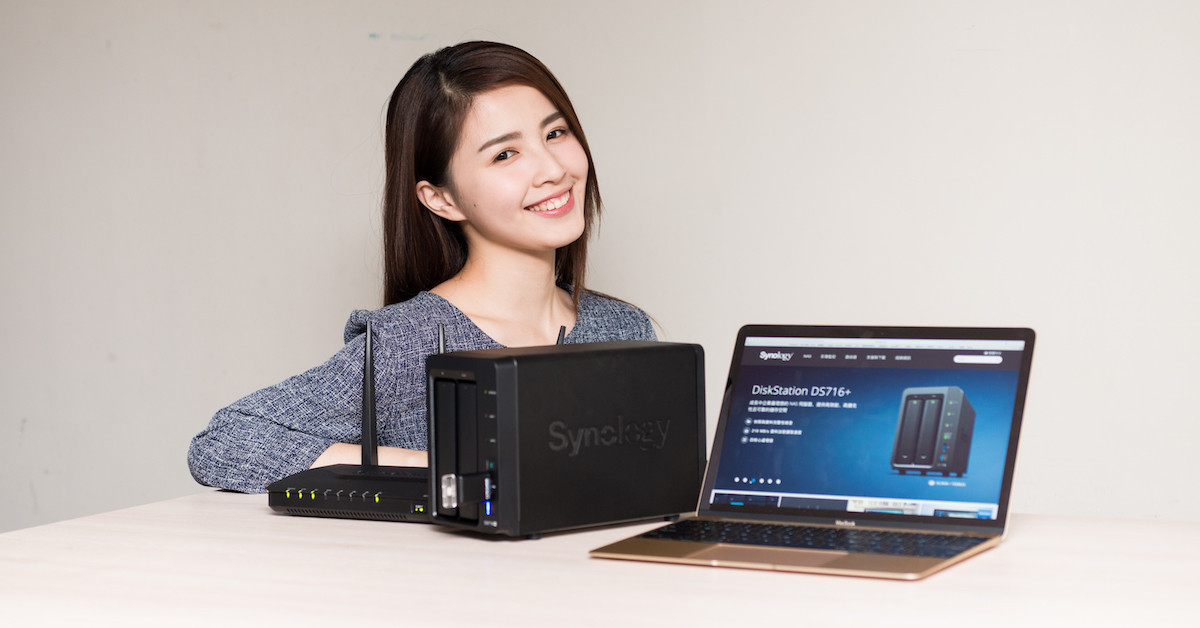 是【癮柯柯】Synology DS716+ 全新上市!內建 4K 高畫質即時轉檔,讓你手機電影輕鬆播~這篇文章的首圖