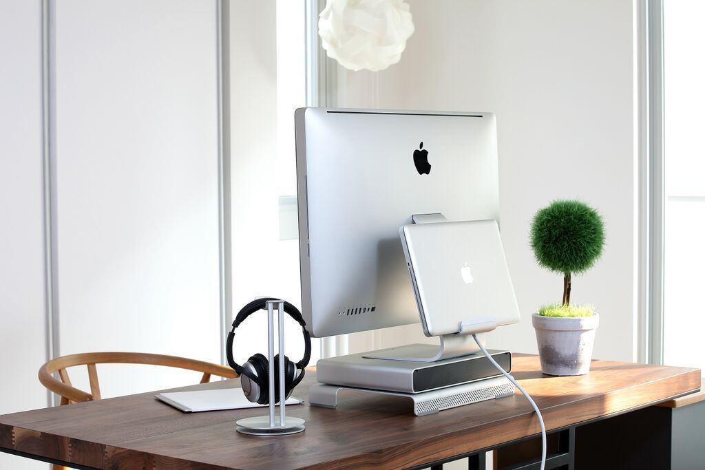 Mac using