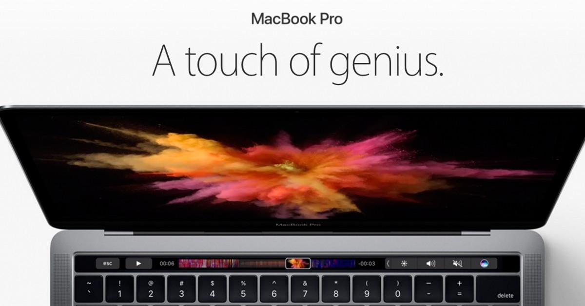 是[蘋科技] 蘋果重新定義觸控?2016 MacBook Pro Touch Bar 讓你自訂控制按鈕!這篇文章的首圖