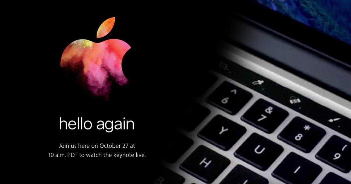 是[蘋科技] 蘋果正式預告 10/27 發表會!MacBook Pro、ThunderBolt Display 極有可能「大改款」這篇文章的首圖