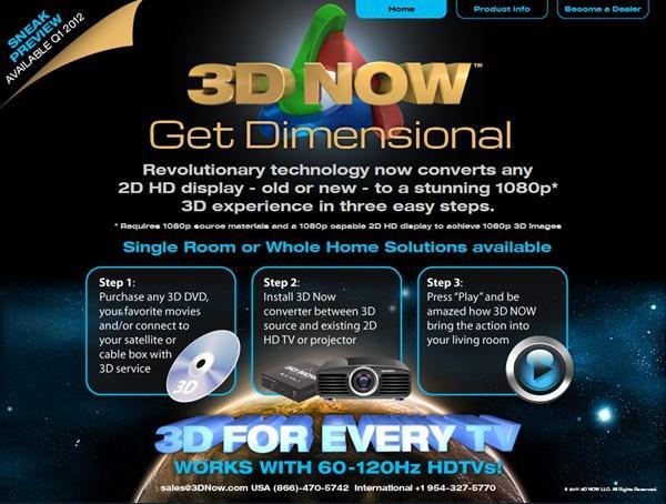是理論上不可能有的產品:3D NOW將2D電視變3D!!這篇文章的首圖