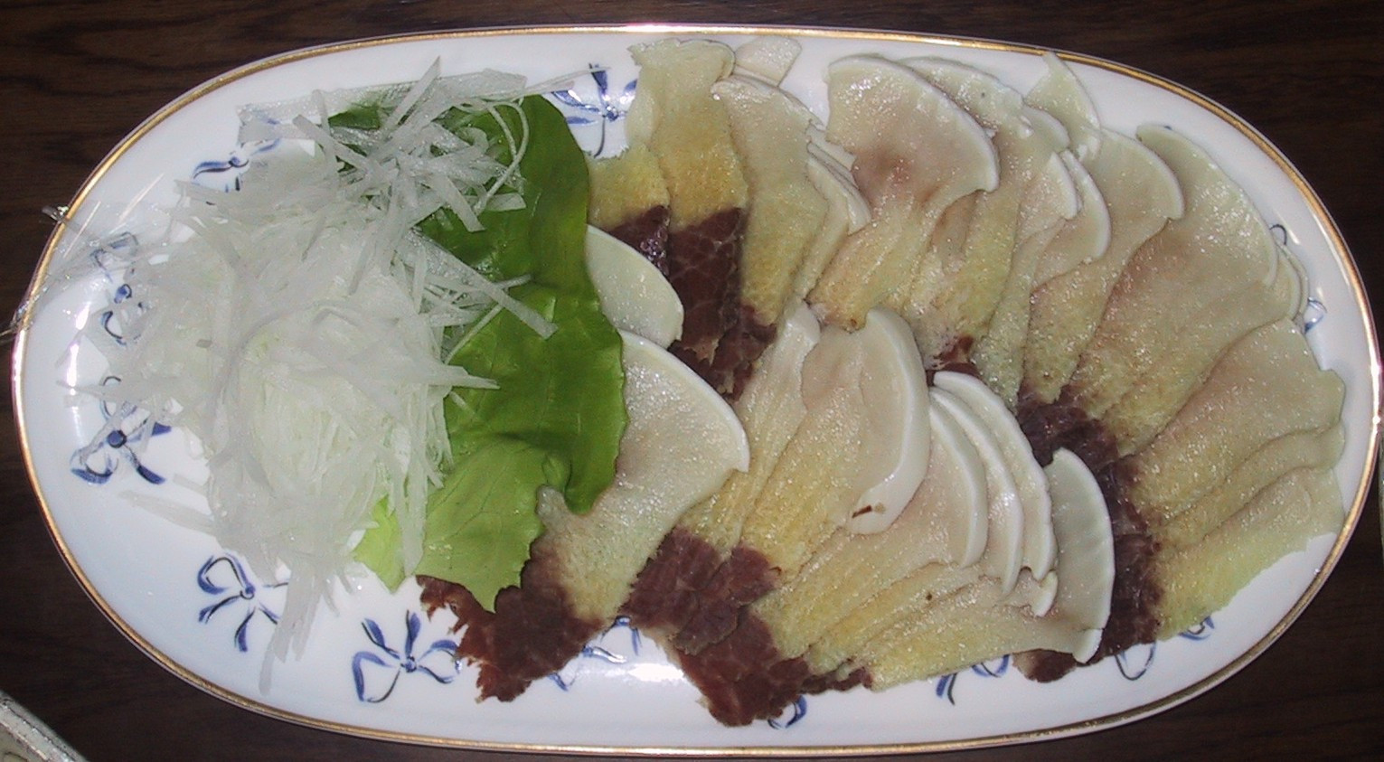Whale meat on dish.jpg