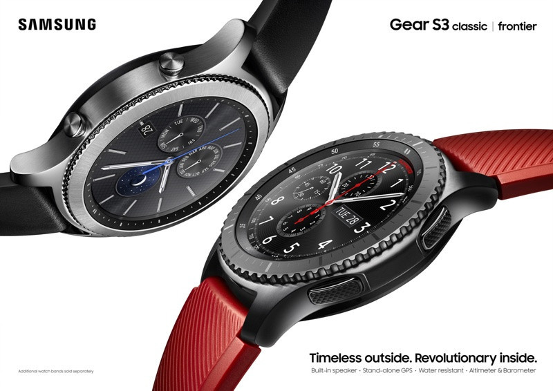 是三星揭曉新智慧錶Gear S3 打造更大智慧穿戴應用生態這篇文章的首圖