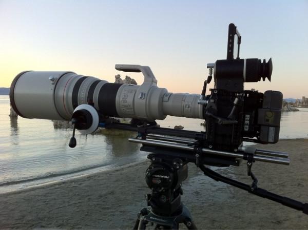 是攝影界的紅白機組合 - RED Epic + Canon 600mm f4 EF這篇文章的首圖