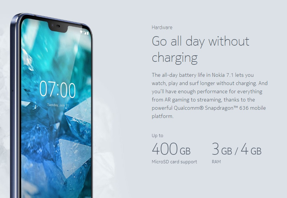 Smartphone, , Nokia, Nokia 7, HMD Global, , Dual SIM, Mobile Phones, Xiaomi, Android One, smartphone, mobile phone, product, gadget, technology, smartphone, water, font, product, communication device, portable communications device