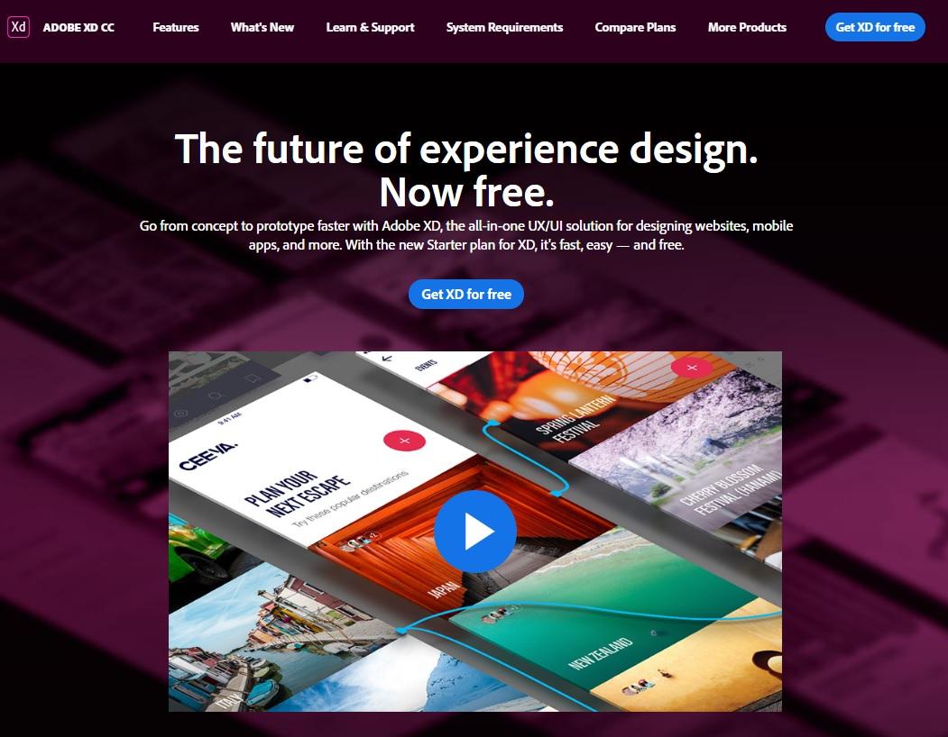 Adobe Creative Cloud, Adobe XD, Design, User interface design, Graphic design, Adobe InDesign, User Experience, Adobe Photoshop, Computer Software, Prototype, Kd|ADOBE XD CCFeaturesWhat's NewLeam & SupportSystem RequirementsCompare PlansMore ProductsGet XD for freeThe future of experience design.Now free.Go from concept to prototype faster with Adobe XD, the all-in-one UX/UI solution for designing websites, mobileapps, and more. With the new Starter plan for XD, it's fast, easyand free.Get XD for free, Kd, ADOBE, XD, CC, Features, What, 's, New, Leam, Support, System, Requirements, Compare, Plans, More, Products, Get, XD, for, free, The, future, of, experience, design., Now, free., Go, from, concept, to, prototype, faster, with, Adobe, XD,, the, all-in-one, UX/UI, solution, for, designing, websites,, mobile, apps,, and, more., With, the, new, Starter, plan, for, XD,, it's, fast,, easyand, free., Get, XD, for, free, text, product, website, advertising, screenshot, display advertising, font, graphic design, media, graphics, Kd|ADOBE XD CCFeaturesWhat's NewLeam & SupportSystem RequirementsCompare PlansMore ProductsGet XD for freeThe future of experience design.Now free.Go from concept to prototype faster with Adobe XD, the all-in-one UX/UI solution for designing websites, mobileapps, and more. With the new Starter plan for XD, it's fast, easyand free.Get XD for free, Arenal Sound 2014, Adobe Creative Cloud,Adobe XD,設計,用戶界面設計,平面設計,Adobe InDesign,用戶體驗,Adobe Photoshop,計算機軟件,原型,Kd | ADOBE XD CCFeatures什麼是NewLeam和支持系統需求比較計劃更多產品免費獲取XD體驗的未來design.Now通過Adobe XD--用於設計網站,移動應用程序等的一體化用戶體驗/用戶界面解決方案,從概念走向原型。隨著XD新的Starter計劃,它快速,輕鬆和免費。獲得XD免費,Kd,ADOBE,XD,CC,功能,什麼,新的,利姆,支持,系統,需求,比較,計劃,更多,產品,獲取,XD,免費,未來,經驗,設計。現在,免費。,從概念到原型,更快,帶有Adobe XD,全功能UX,UI,解決方案,設計,網站,移動,應用程序等等,這些新的Starter計劃對於XD而言是快速,簡單和免費的。 ,Get,XD,for,免費,文字,產品,網站,廣告,屏幕截圖,展示廣告,字體,圖形設計,媒體,圖形Kd | ADOBE XD CCFeatures什麼是NewLeam和支持系統需求比較計劃更多產品免費獲取XD體驗設計的未來。現在免費。使用Adobe XD--一款用於設計網站,移動應用程序等的一體化UX / UI解決方案,從概念到原型更快。隨著XD新的Starter計劃,它的速度,方便